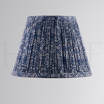 Samarkand Indigo Grid Cotton Shade