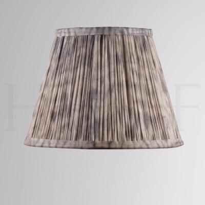 Samarkand Shibori Ecru Ashvem Tie-Dye Silk Shade