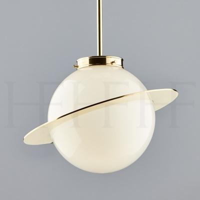 Saturn Globe Pendant