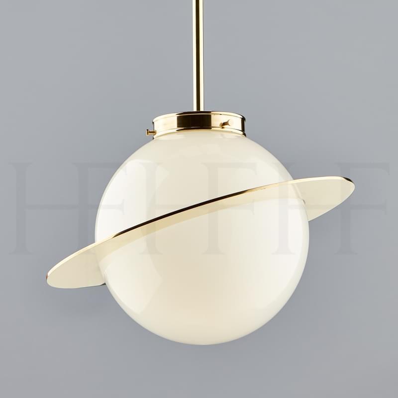 PL308 Saturn Globe Pendant Main L