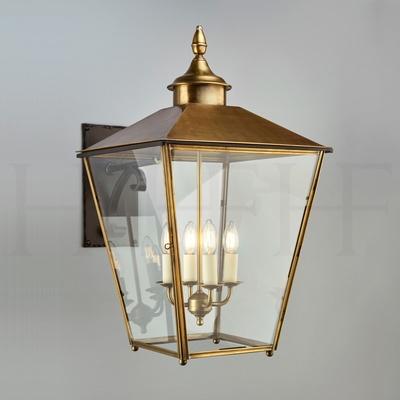 Sir John Soane Hanging Lantern With Roof on Bracket