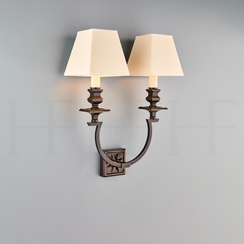 Wl451 Horseshoe Starback Wall Light L