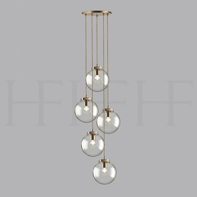 "Palantir 5 Light Globe Cluster 8"""