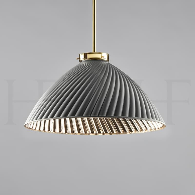 Pl134 L Tiber Large Grey On Brass Rod L