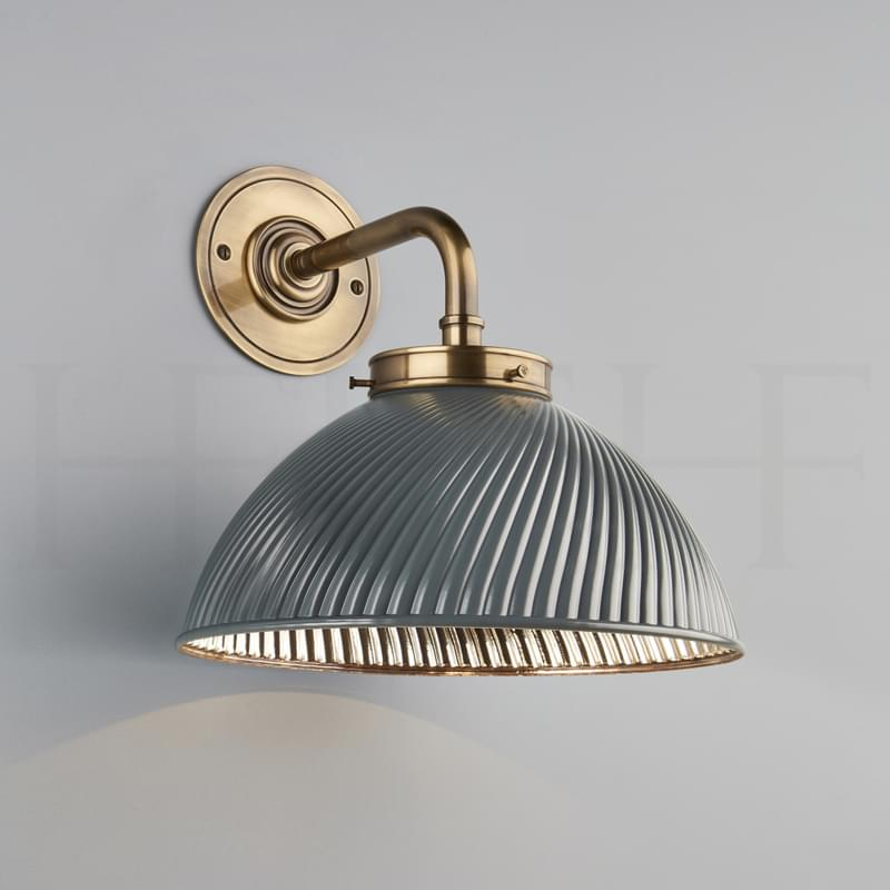 Wl72 Tiber Wall Light Grey Ab L
