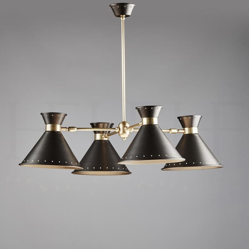 Ch80 Tom Chandelier With Spots L