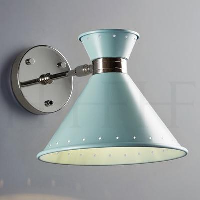 Tom Wall Light with switch, Acqua