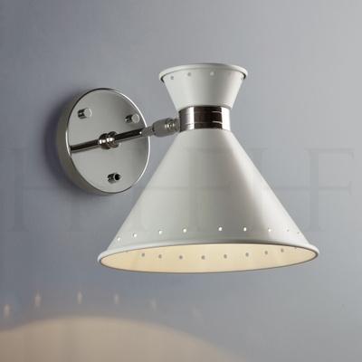 Tom Wall Light with switch, Grigio