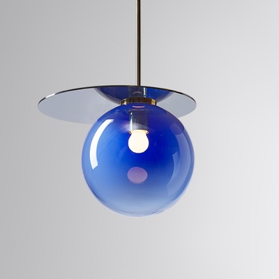 Umbra Pendant Blue, Blue Disc