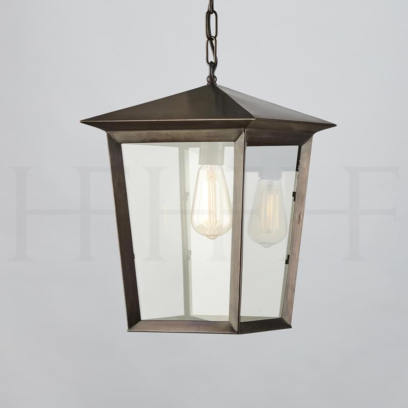 La411 Viktor Hanging Lantern Bronze L
