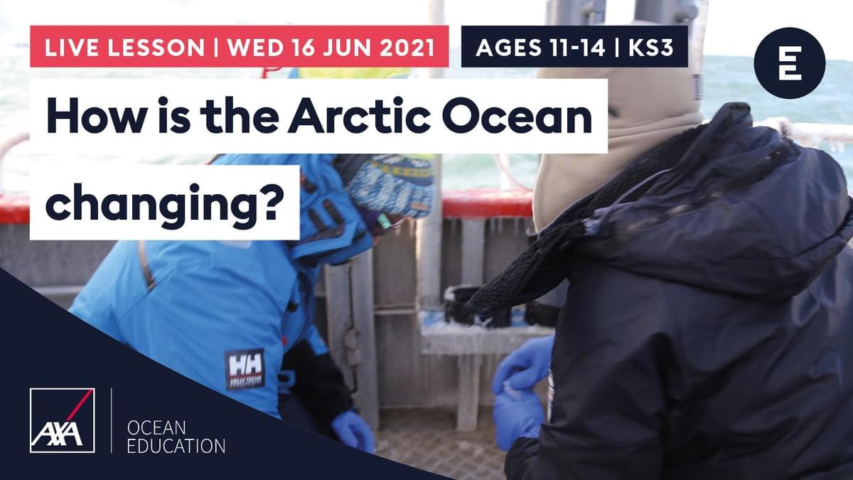 AL2021 How is the Arctic Ocean changing KS3