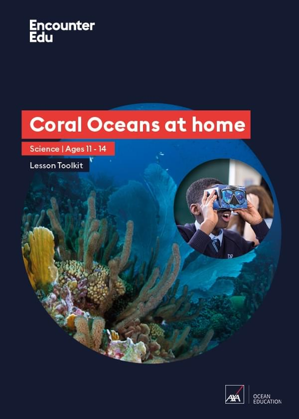 Coral Oceans at home 7 11 Cover
