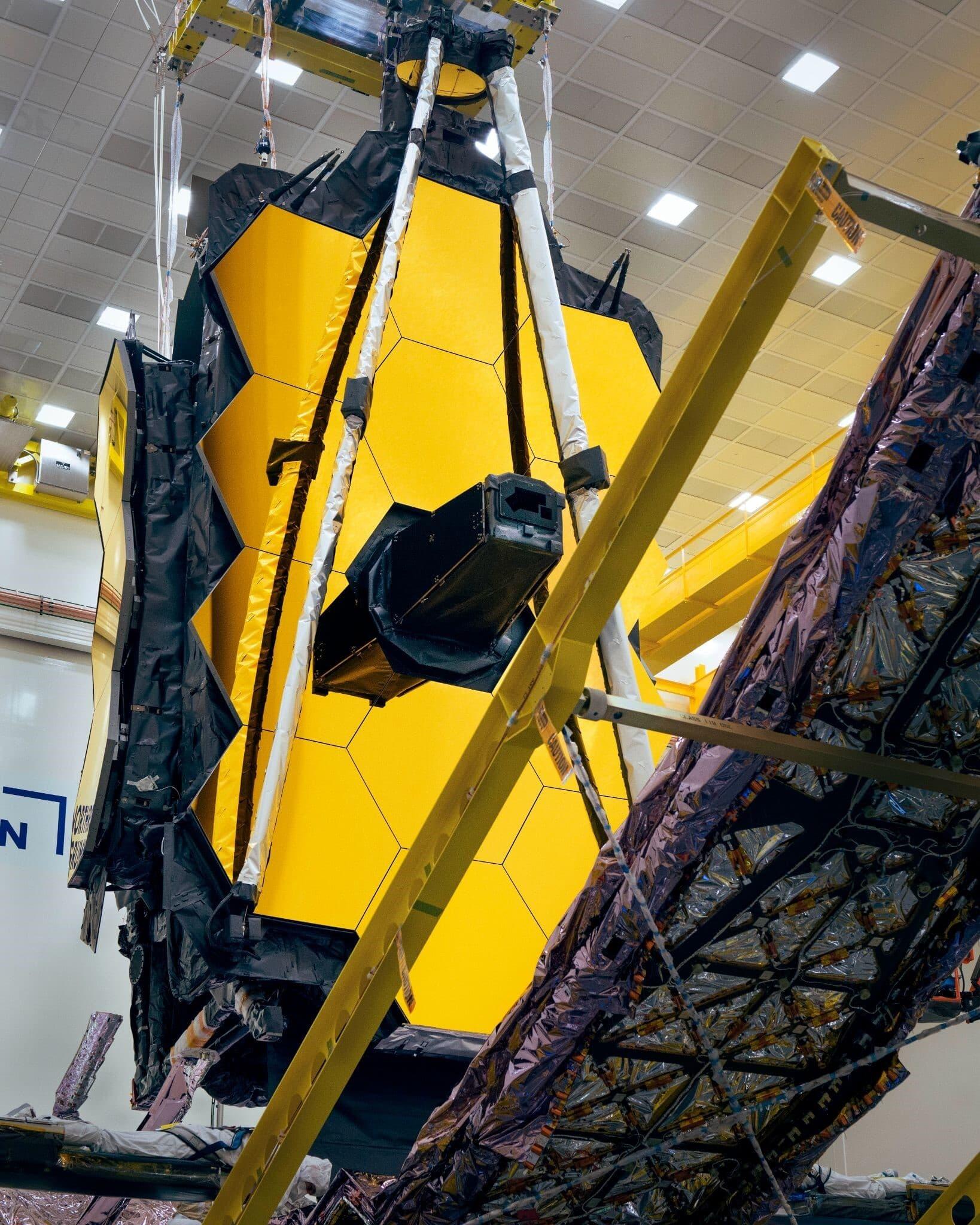 Launch of JWST Inches Closer as Northrop Grumman Begins to Button Up the Spacecraft