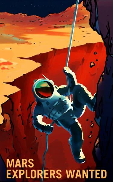 NASA Mars Poster