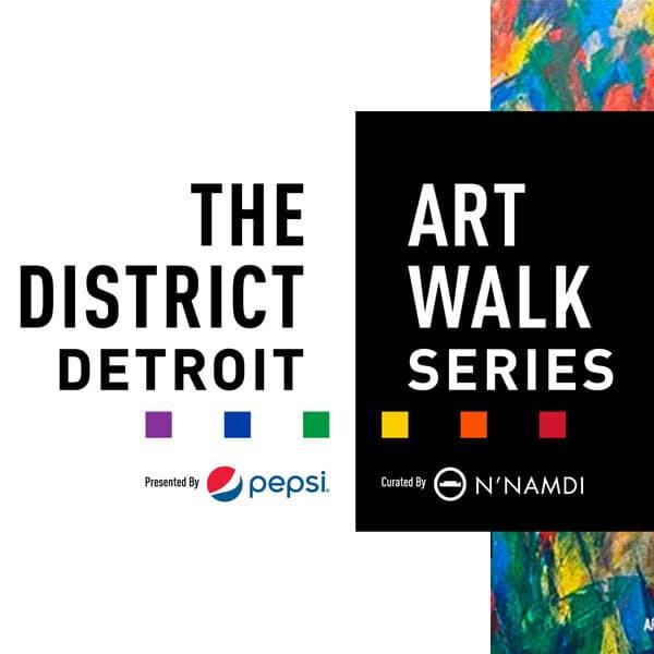 The District Detroit Art Walk Series