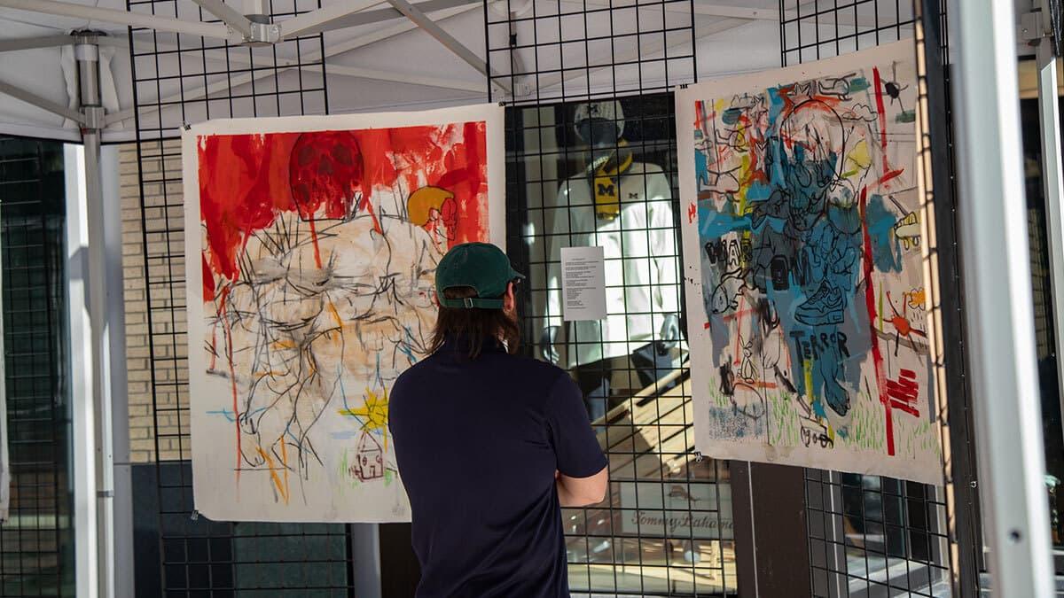 District Detroit Art Walk Series 7 9 21 8