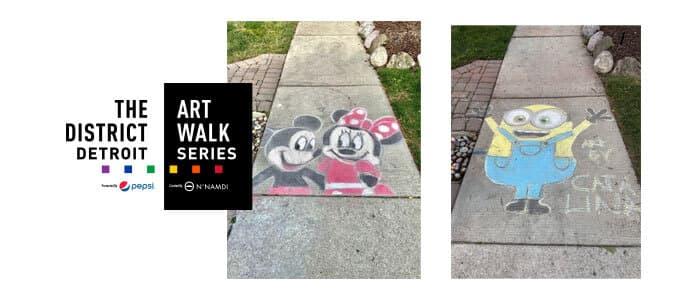 District Detroit Art Walk Series Catalina Colangelo