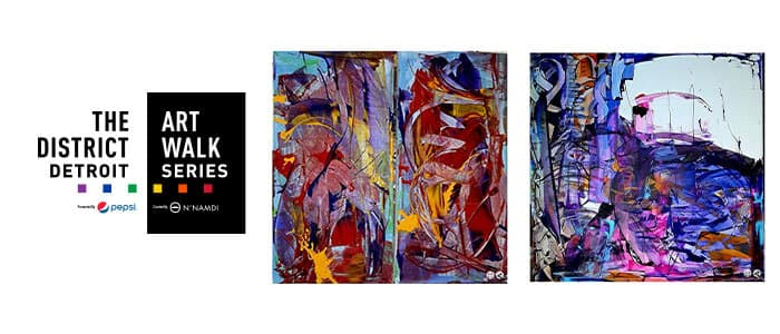District Detroit Art Walk Series Dawn Stringer Slideshow 1