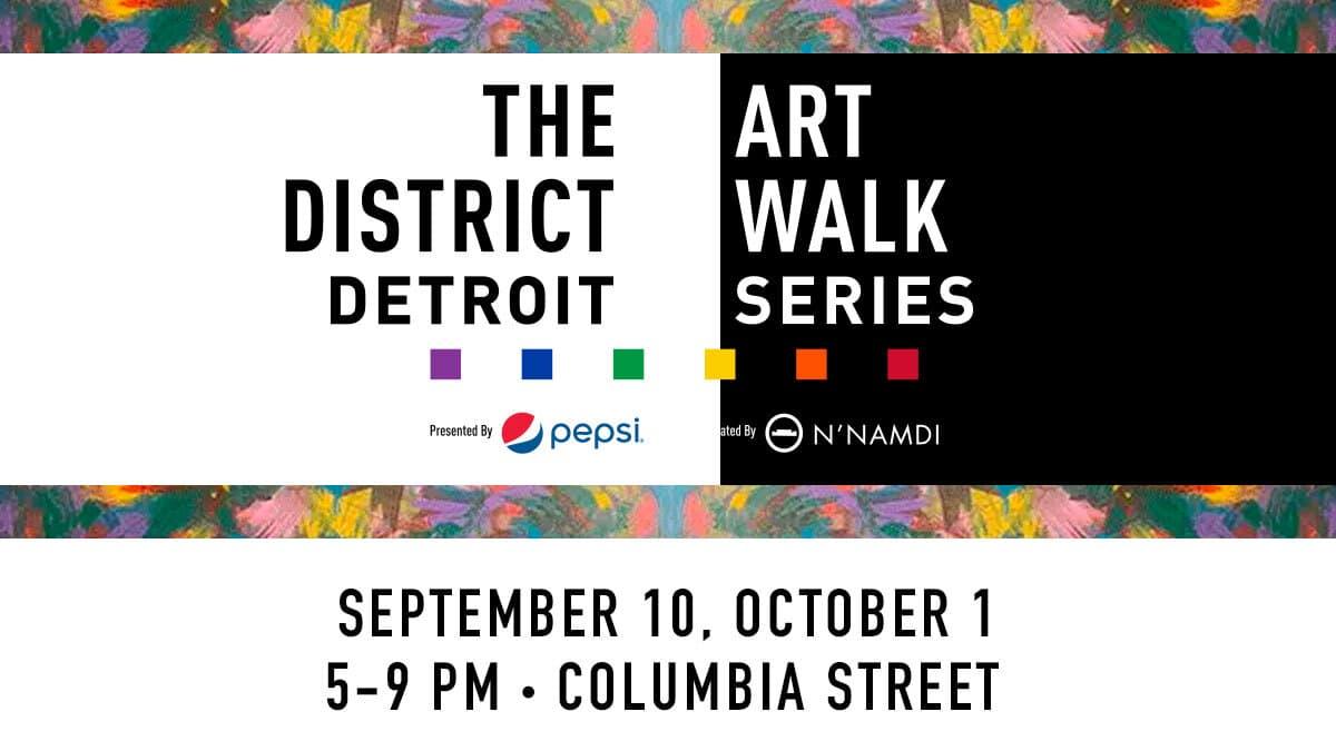 District Detroit Art Walk Series EDP Sept