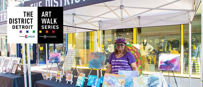 District Detroit Art Walk Series Ida Hawkins