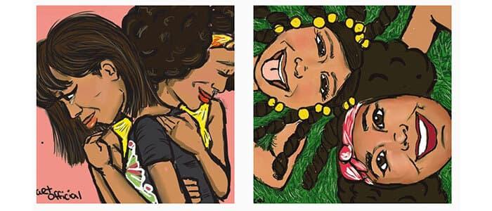 District Detroit Art Walk Series Precious Angel Jennings 1