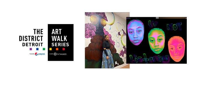 District Detroit Art Walk Series Ruby Sxde