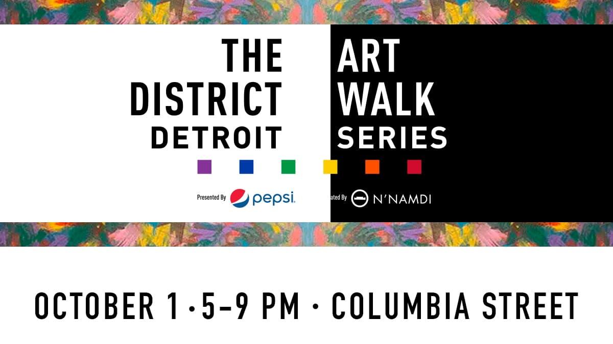 District Detroit EDP Art Walk Oct1
