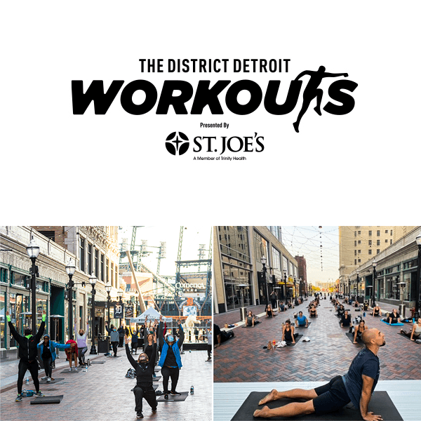 The District Detroit Workouts Presented by, St. Joes