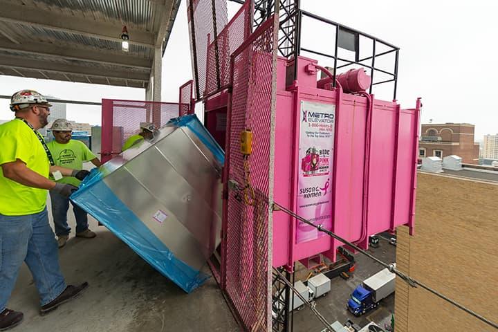 Pink Elevator Thumb