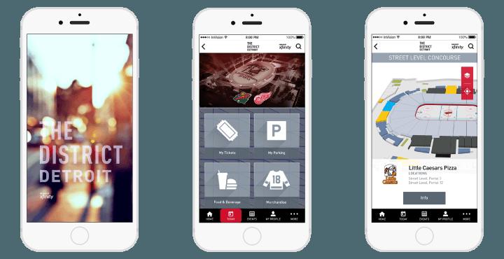 The District Detroit Mobile App
