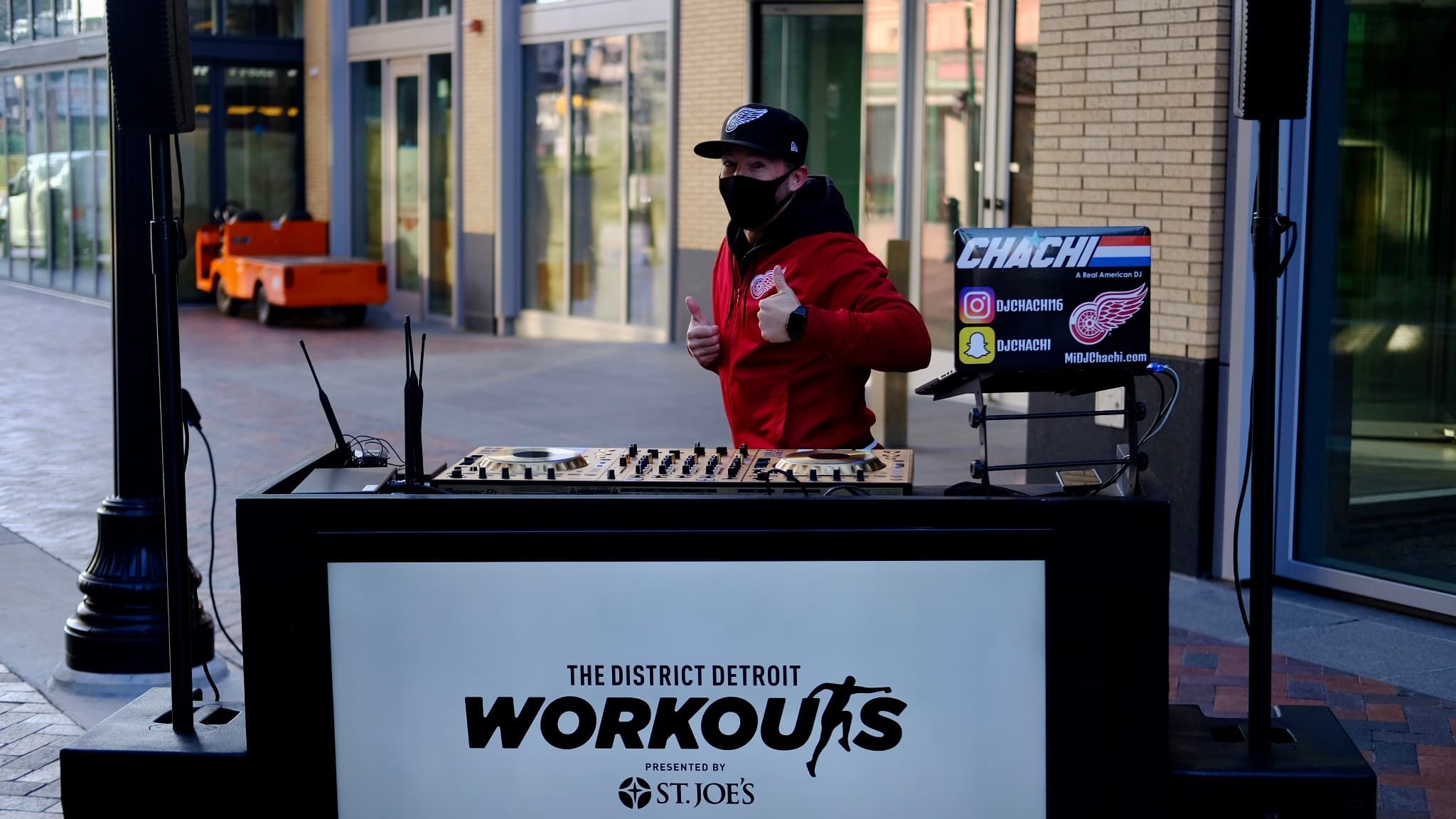 Dj Chachi in the District Detroit