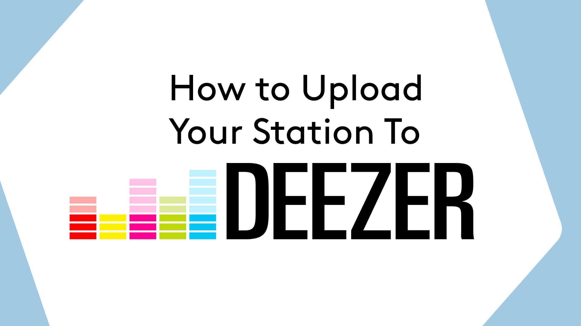 Upload To Deezer Header