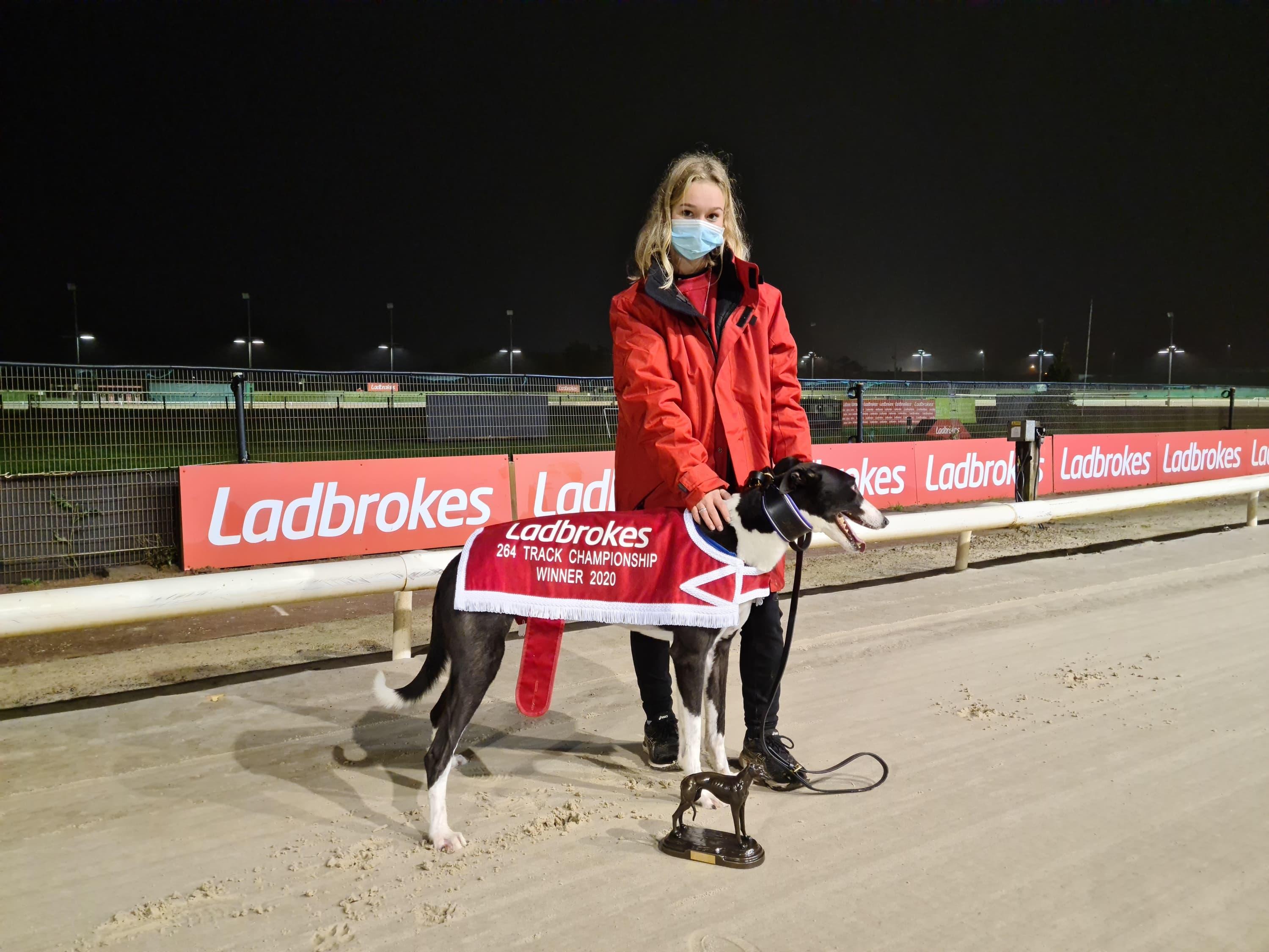 Ladbrokes Track Championship 264m Winner