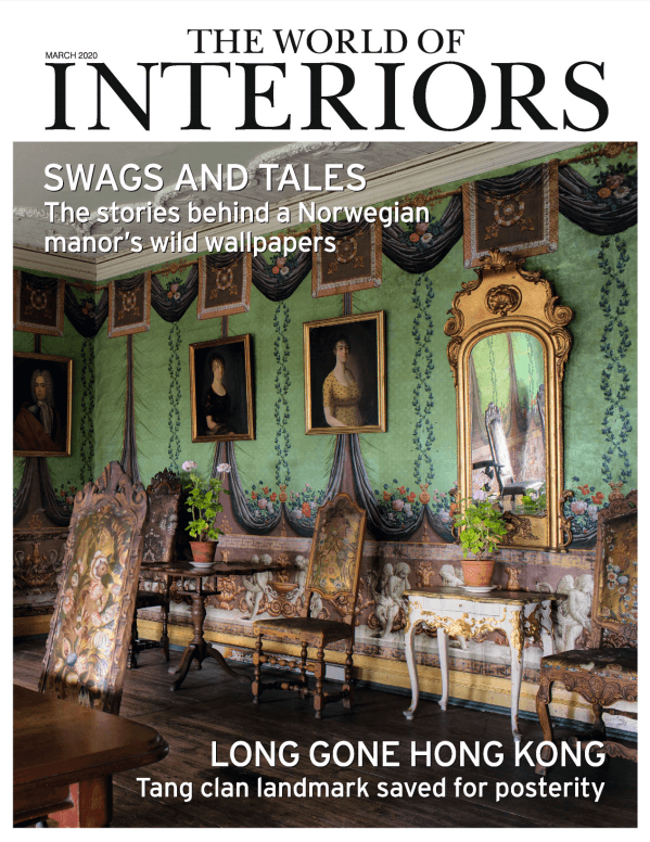 2020 03 01 The World Of Interiors Cover