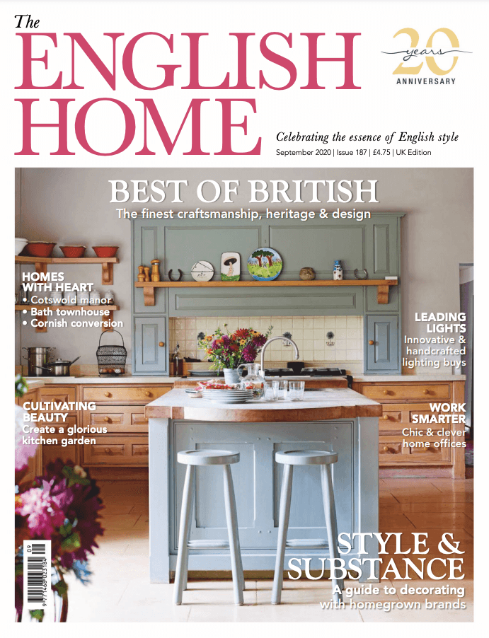 2020 09 01 The English Home cover