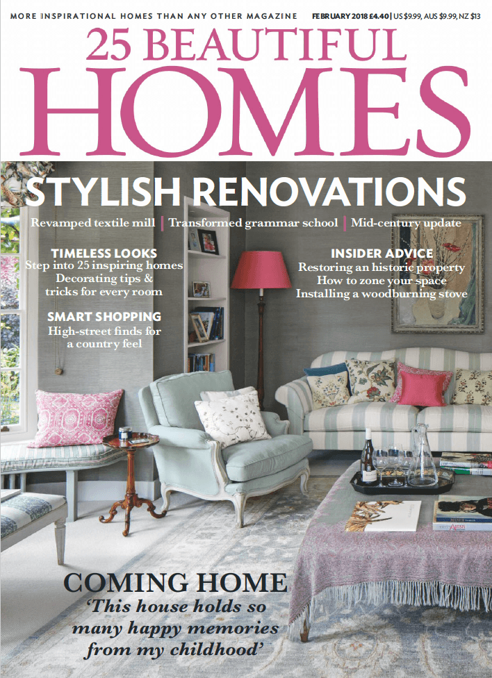 25 Beautiful Homes Feb18 Cover