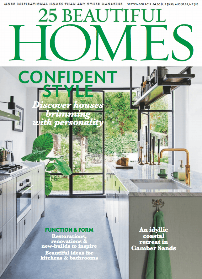 25 Beautiful Homes Sep19 Cover