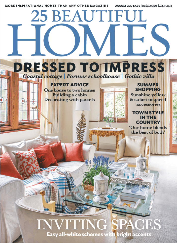 25 Beautiful Homes  August 2017 Cover
