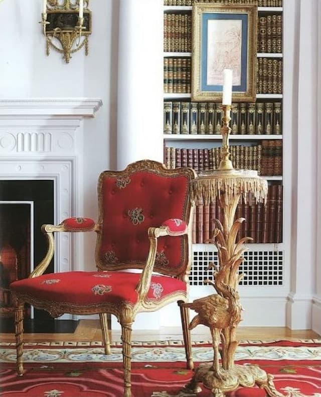 A Passion For Interiors Red Room 03