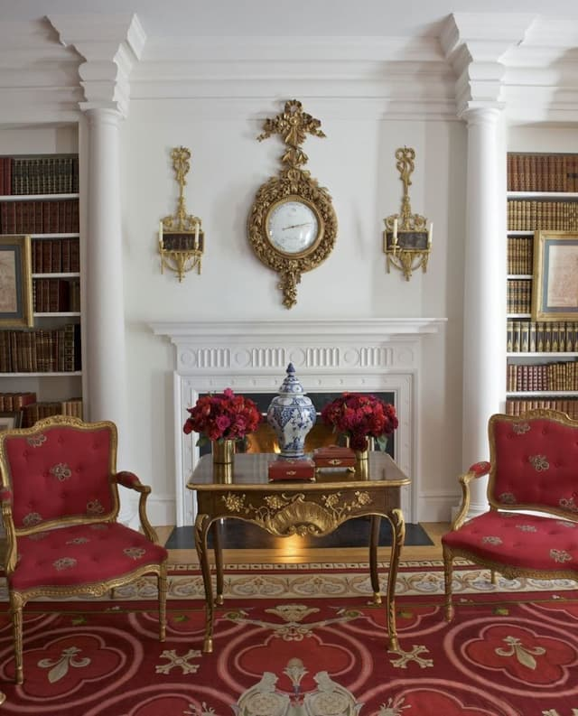A Passion For Interiors Red Room 04