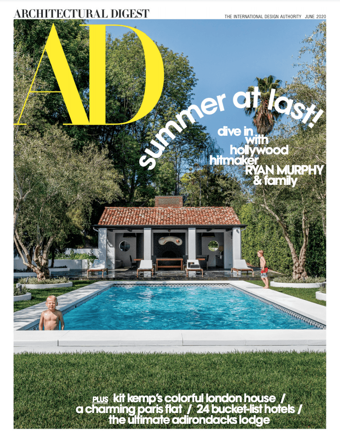 Architectural Digest USA 06 2020 cover