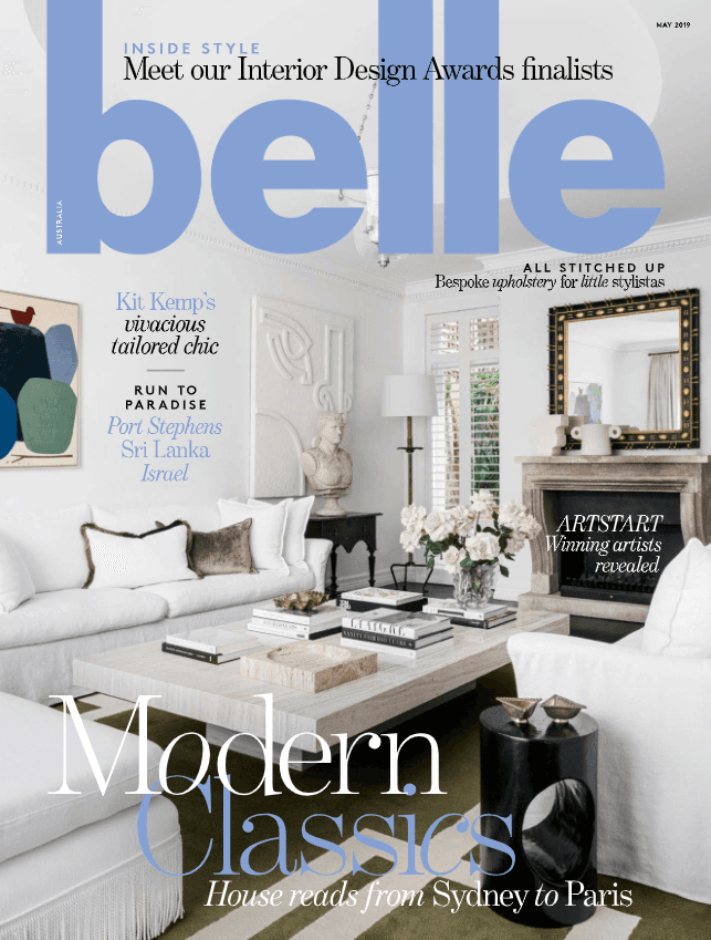 Belle May 2019 Cover