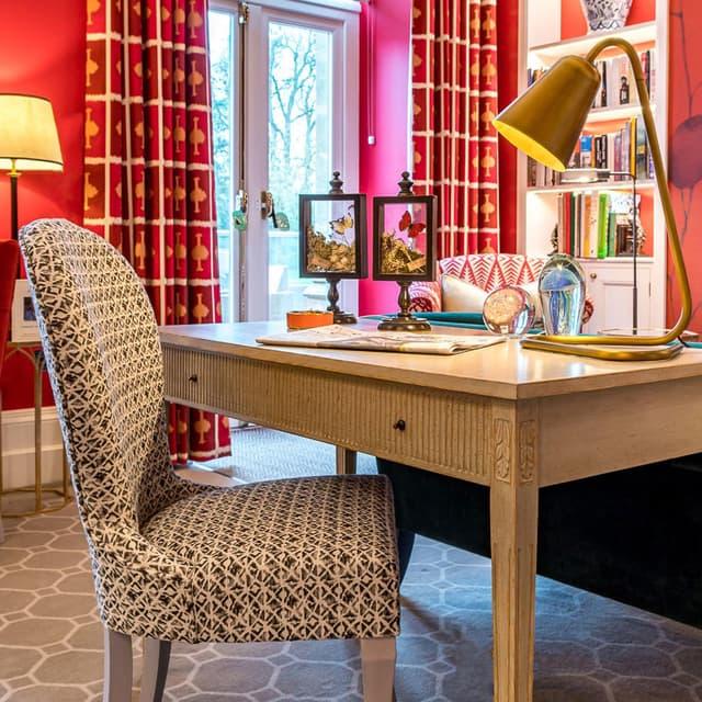 Coppers Hill House Surrey Chelsea Textiles 02