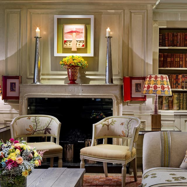 Firmdale Soho Hotel Chelsea Textiles Whitby chair 01