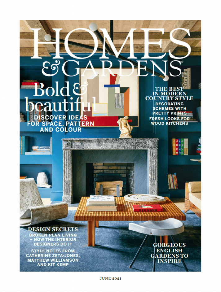 Homes Gardens UK 06 2021 cover
