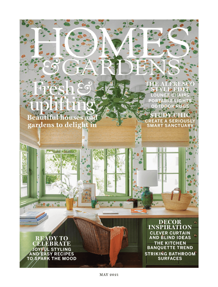 Homes and Gardens UK May 2021 Cover