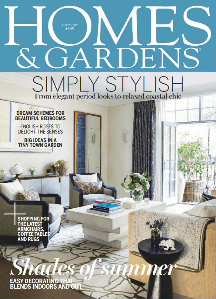 Homes Gardens July 2017 Cover