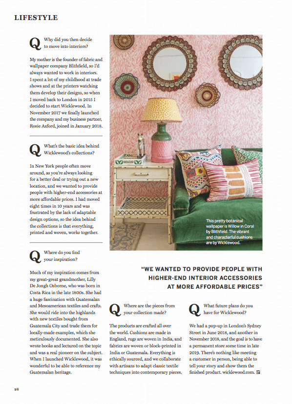 Homes Gardens Uk March 2019 P26