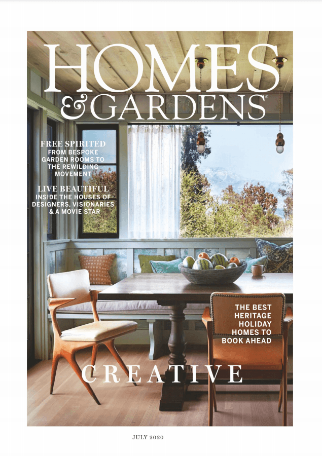 Homes and Gardens UK July 2020 cover