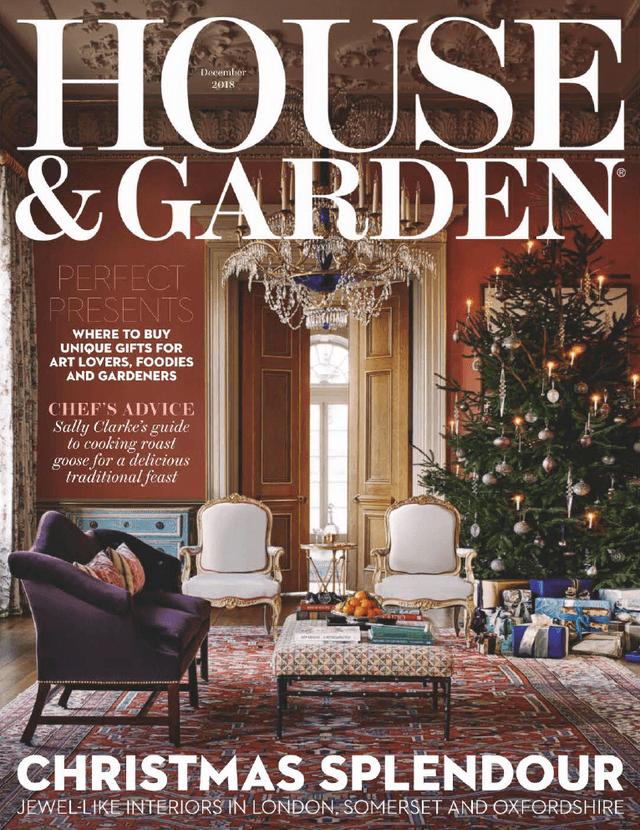 House  Garden Uk  December 2018 Cover
